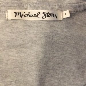Michael Stars Tops - Michael Stars Oversized High Low Button Down XS